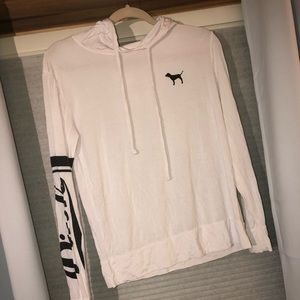 PINK Victoria's Secret Tops - Light Hoodie
